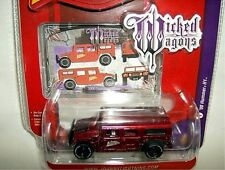 JL 1/64 wicked wagons 2000 HUMMER H1 CIVILIAN 4x4-ruby