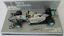 F1 1/43 MERCEDES GP W01 ROSBERG 2010 MINICHAMPS
