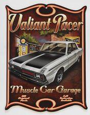 VALIANT PACER GOLDEN FLEECE MUSCLE CAR GARAGE OPEN 24 HRS Metal Sign 360X455