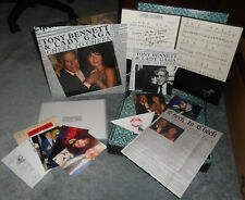 "Tony Bennett Lady Gaga Cheek To Cheek Box Set Vinyl LP 7"" CD DVD Complete LTD"