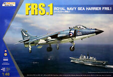 Kinetic 1/48 K-48035 Royal Navy FRS.1 Sea Harrier Vertical Take Off & Landing