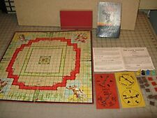1938 THE LONE RANGER GAME Board & Pieces - No Box in Good- Condition - 4 Parts