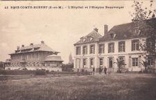 BRIE-COMTE-ROBERT 53 l'hôpital et l'hospice beauverger timbrée 1933