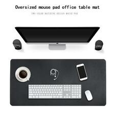 Waterproof Desk Pad PU Leather Extended Mouse Pad Office Desk Writing Mat 3color