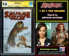 😍 1 OF 1 SAVAGE TALES #2 CGC 9.8 SS SUYDAM 👀 LOOK CONAN #23 FANS: RED SONJA