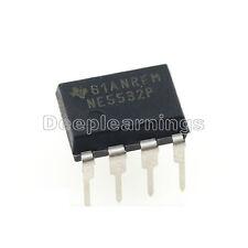 20PCS NE5532P NE5532 DIP-8 Dual Low Noise Op-Amp TI IC new