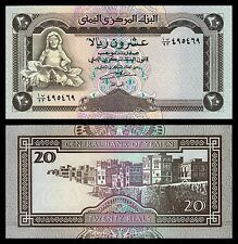 Yemen  20 Rials  ND 1990  Pick 26b  SC = UNC