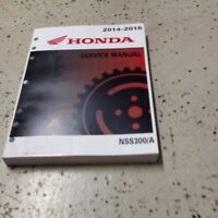 2014 2015 2016 Honda NSS300/A NSS300A Forza Service Shop Workshop Repair Manual