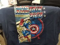 MARVEL COMICS - CAPTAIN AMERICA - XL - T-SHIRT