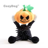The Nightmare Before Christmas Jack Skellington Pumpkin Head Plush Doll Toy Gift