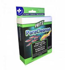 Fritz ParaCleanse Parasitic Fish Medication 10ct Package Aquarium Fritz Mardel