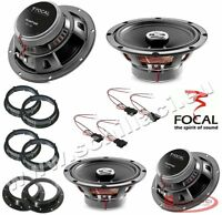 Kit 4 HP enceintes haut-parleurs FOCAL pour FIAT / ALFA ROMEO / LANCIA / OPEL av
