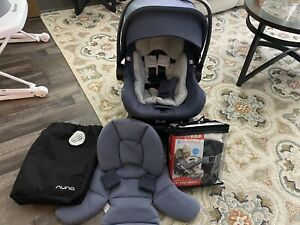 Nuna Pipa Lite Car Seat And Base Great Condition!