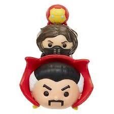 Marvel Tsum Tsum 3 pack Series 1 Doctor Strange Winter Soldier Iron Man #11