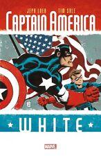 Capitaine America-White HC allemand Tim Sale Variant-reliés + Artprint lim.111 EX