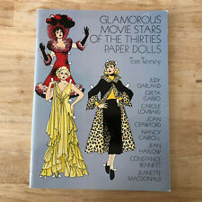 Glamorous Movie Stars of the Thirties Cut Out Paper Dolls Tom Tierney Color