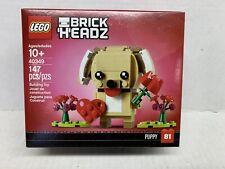 LEGO 40349 BrickHeadz Valentine's Puppy Rare New Easter Gift-V22-24,V50-54