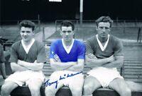 Signed Tony McNamara Everton Autograph Photo Liverpool Crewe Bury