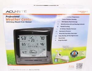 AcuRite Best Home Digital Weather Station Center Wireless Thermometer Instrument
