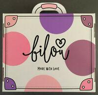 Bilou Geschenk Set 2019 Box Koffer Duschschaum Cremeschaum Handschaum Pins Bibi