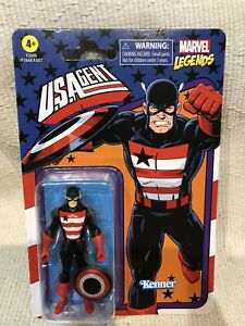 Marvel Legends U.S. Agent Wave 4 Kenner Retro 3.75 Action Figure BRAND NEW