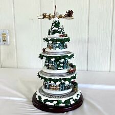 Thomas Kinkade Wonderland Express Musical Christmas Tree, Lighted, Trains #Q6598