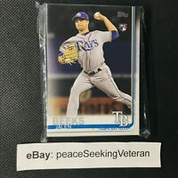 Jalen Beeks - 25x ROOKIE Card Lot BASE 2019 Topps Series 2 #688 Rays RC