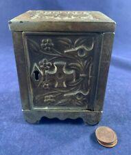 Antique Vintage Metal Still Bank