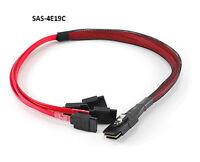 "19"" Internal Mini SAS (SFF-8087) M to 4x SATA 7-Pin F Forward Breakout Cable"