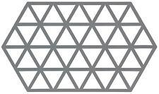 ZONE DENMARK Topfuntersetzer Tischschoner Triangel groß aus Silikon, grau