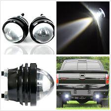 2Pcs Xenon White 5W CREE LED Fish Eye Car Backup Reverse Parking Light Tail Lamp