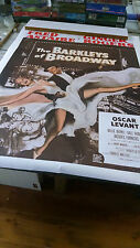 the Barkleys of Broadway Fred Astaire Ginger Rogers NOS wall poster PBX3472