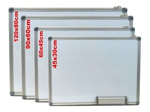 Office School Home Magnetic Dry Wipe Whiteboard Aluminium Frame***ALL SIZES***