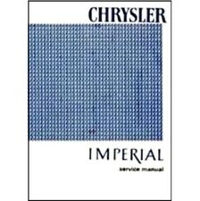 Factory Shop - Service Manual for 1966 Chrysler & Imperial
