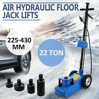 22TON SUPER LOW PROFILE LIFT FLOOR AIR HYDRAULIC TRUCK TROLLEY JACK TOOL 22 TON