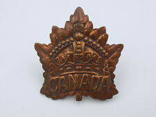 Original Wwi Cef Canadian Army Canada General List Service Cap Badge 1916