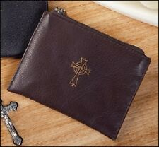 Rosary Case in Brown Leather