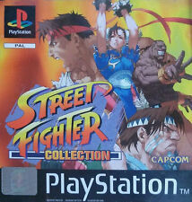 Street Fighter Collection (Sony PlayStation 1, 1998) - European Version