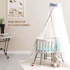 Brand New Baby Bassinet Cot Crib Bedside With Baby Mat