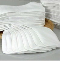 1-20Pcs Reusable Baby inserts liners for Cloth Diaper Nappy microfiber Optional