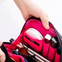 Women Nylon Small Cosmetic Storage Bag Makeup Organiser Travel Handbag
