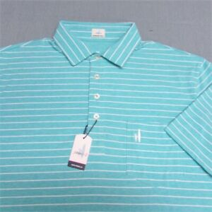 JOHNNIE-O HANGING OUT COTTON SPANDEX GOLF SHIRT--M--UNWORN!!--NEW!!TAGS!!