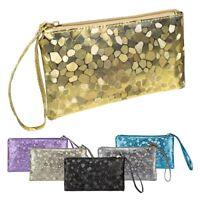 Purse Women PU Leather Long Card Holder Case Clutch Handbag Wallet
