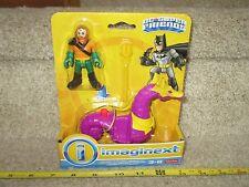 Imaginext DC Super Friends Fisher Price Long Hair Aquaman & Seahorse Figure 2017