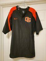 Vintage Nike Oregon State Beavers Player Used Team Worn Jacket Sz L RARE