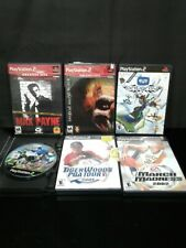 Sonic Riders, Max Payne, Twisted Metal, & 3 Others - PlayStation 2