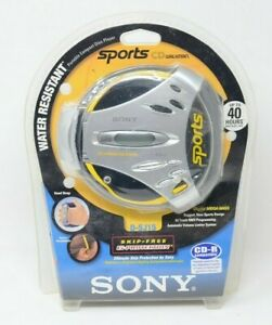 Sony Portable Sports CD Player Walkman Discman DSJ15 Tested G Protection D-SJ15