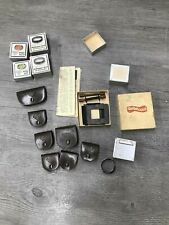 Rollei Filter, Small Cases & Accessories Lot