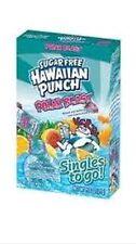 4 Pack - SUGAR FREE Hawaiian Punch® Singles to Go: Polar Blast,  8 packets/box