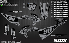2020 KTM SXF 450 2019 model SMX motocross graphics SX 125 250 dirt decals 350 19
